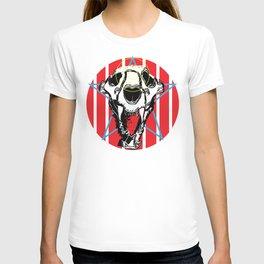 Lion Skull Americana T-shirt