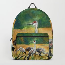 Sandhill Cranes Backpack