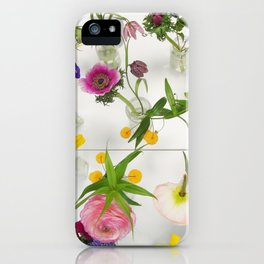 Spring Flowers - JUSTART (c) iPhone Case