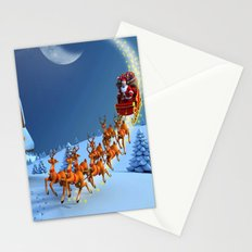 Night Christmas Stationery Cards