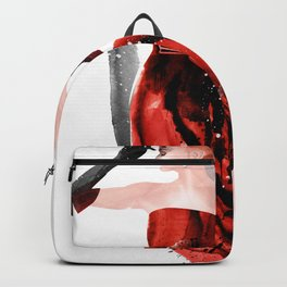 Red evening dresses, Fashion Beauty, Fashion Painting, Fashion IIlustration, Vogue Portrait, #17 Backpack