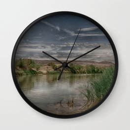 Sleepy Rio Grande Wall Clock