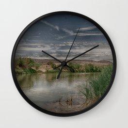 Sleepy Rio Grande Wall Clock