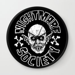 NIGHTMARE SOCIETY Wall Clock
