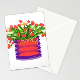 LOVERLY FLORAL Stationery Cards