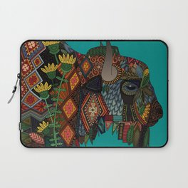 bison teal Laptop Sleeve