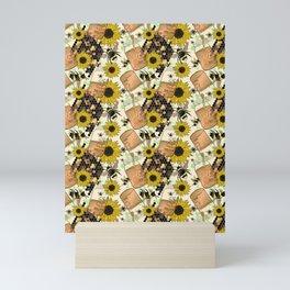 Sweet Honey Bees Mini Art Print