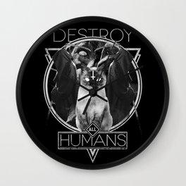 Destroy All Humans! Wall Clock