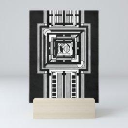 Tapestry - Art Deco Drawing Mini Art Print