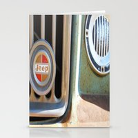 jeep Stationery Cards featuring Jeep by AnniarchyDesigns