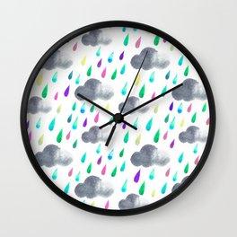 Rain(bow) Wall Clock