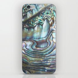 Shimmery Pastel Abalone Shell iPhone Skin