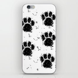 Pawprint Love iPhone Skin