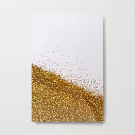 My Favorite Color II (NOT REAL GLITTER) Metal Print