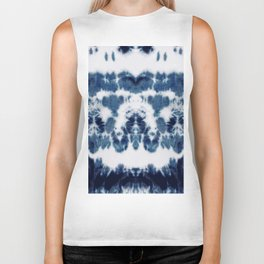 Shibori Not Sorry Biker Tank