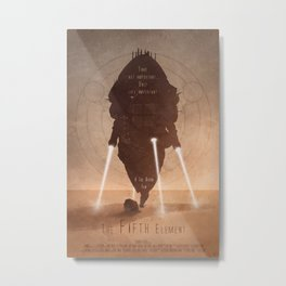 The Fifth Element No.1 Metal Print