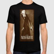 Nosferatu 1922 Black LARGE Mens Fitted Tee