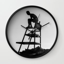 Beach Life - Lifeguard Wall Clock