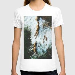 OCEAN - SEA - WATER - ROCKS - PHOTOGRAPHY T-shirt