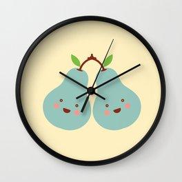 twin Wall Clock