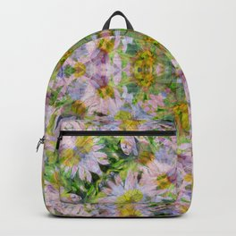 DAISEY MADNESS ABSTRACT  Backpack