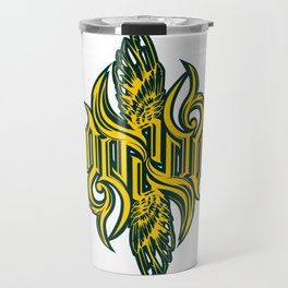 Angel 3K ambigram Travel Mug