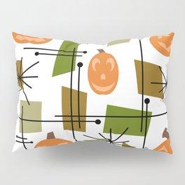 Halloween Mid Century Modern Pillow Sham