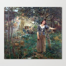 Jules Bastien-Lepage Joan of Arc Canvas Print