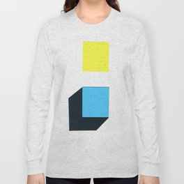 Squares in cross Long Sleeve T-shirt
