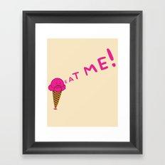 Ice Scream Framed Art Print