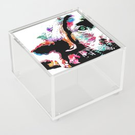 riley the lab pup Acrylic Box