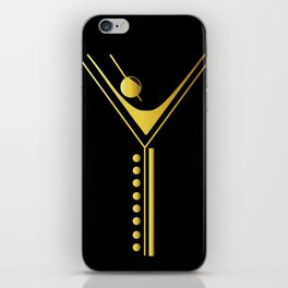 Jazzy Letterform iPhone Skin