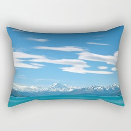Mount Cook Cloudscape Rectangular Pillow