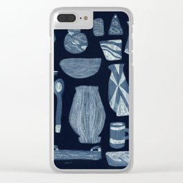 Dinnerware for Evening, 1958 Clear iPhone Case