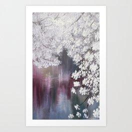 Blossom mood Art Print