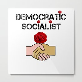 Democratic Socialists Of America Metal Print