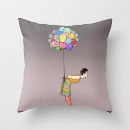 Unbearable Throw Pillow