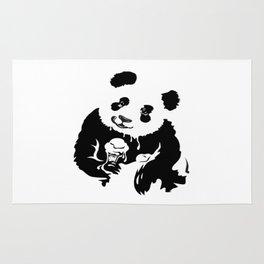 panda like ice cream Rug