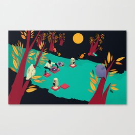 The Art of Easing Canvas Print