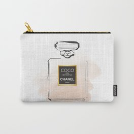 Golden Perfume Carry-All Pouch