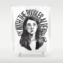Lorelai Gilmore Shower Curtain