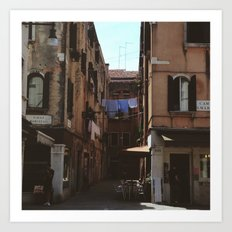 Calle Marcello Art Print