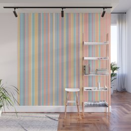Color grid Wall Mural