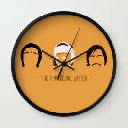 The Darjeeling Limited Wall Clock