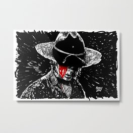 Carl Grimes Metamorphosis. The Walking Dead. Metal Print
