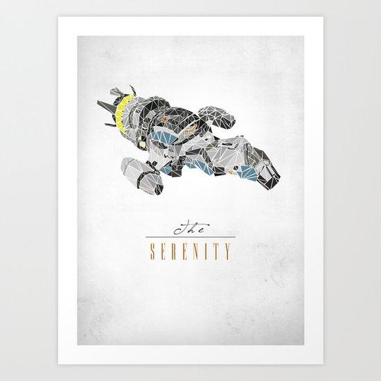 The Serenity Art Print