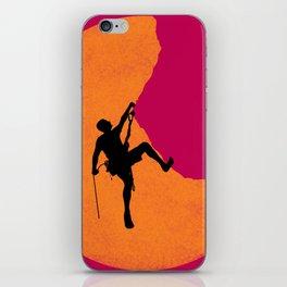 Climbing iPhone Skin