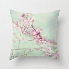 Pink Symphony Throw Pillow