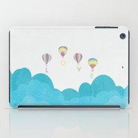 hot air balloon iPad Cases featuring hot air balloon.. LOVE...  by studiomarshallarts