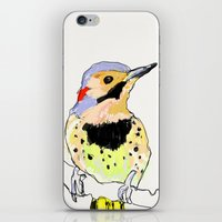 dot iPhone & iPod Skins featuring Dot by fuglsangasong